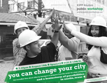 Event: You can change your city on August 19th at 7.00pm.