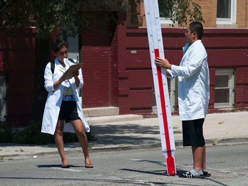 Project: How Healthy Is Your Neighborhood? Its Schools, Housing, Streets & Public Spaces?