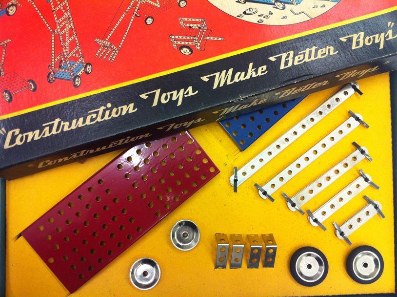 National Building Museum Fellowship Update #1: Construction Toys Make Better Boys?