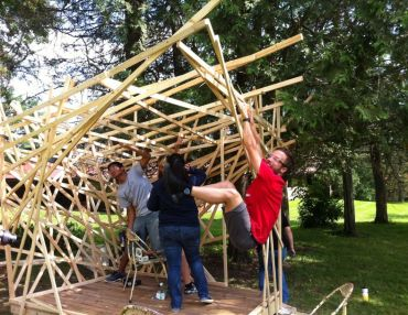 Images From Our #teendesignheroes Workshop At Taliesin In Rural Wisconsin.