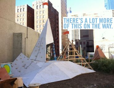 We're Design-Building Another Adventure Playground(s) In Philly With Teens!