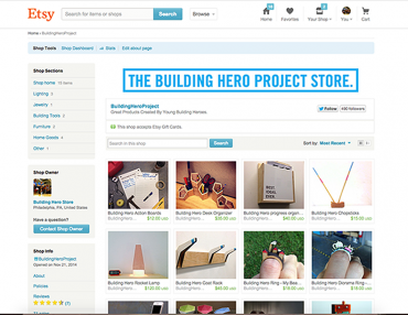 The Building Hero Project, Our Young Adult Design Leadership + Entrepreneurship Program.