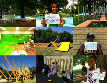 Tiny WPA Update: Teens Redesigning/Rebuilding Classrooms, Vacant Lots, + Playgrounds, Oh My!