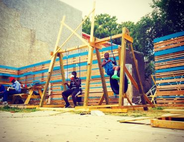 Transforming A Formerly Vacant Lot With Youth + Community-Built Play.