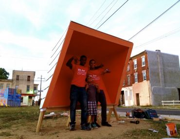 A Teen Design-Built Community Message Board + Tools To Strengthen Their Neighborhood Work.